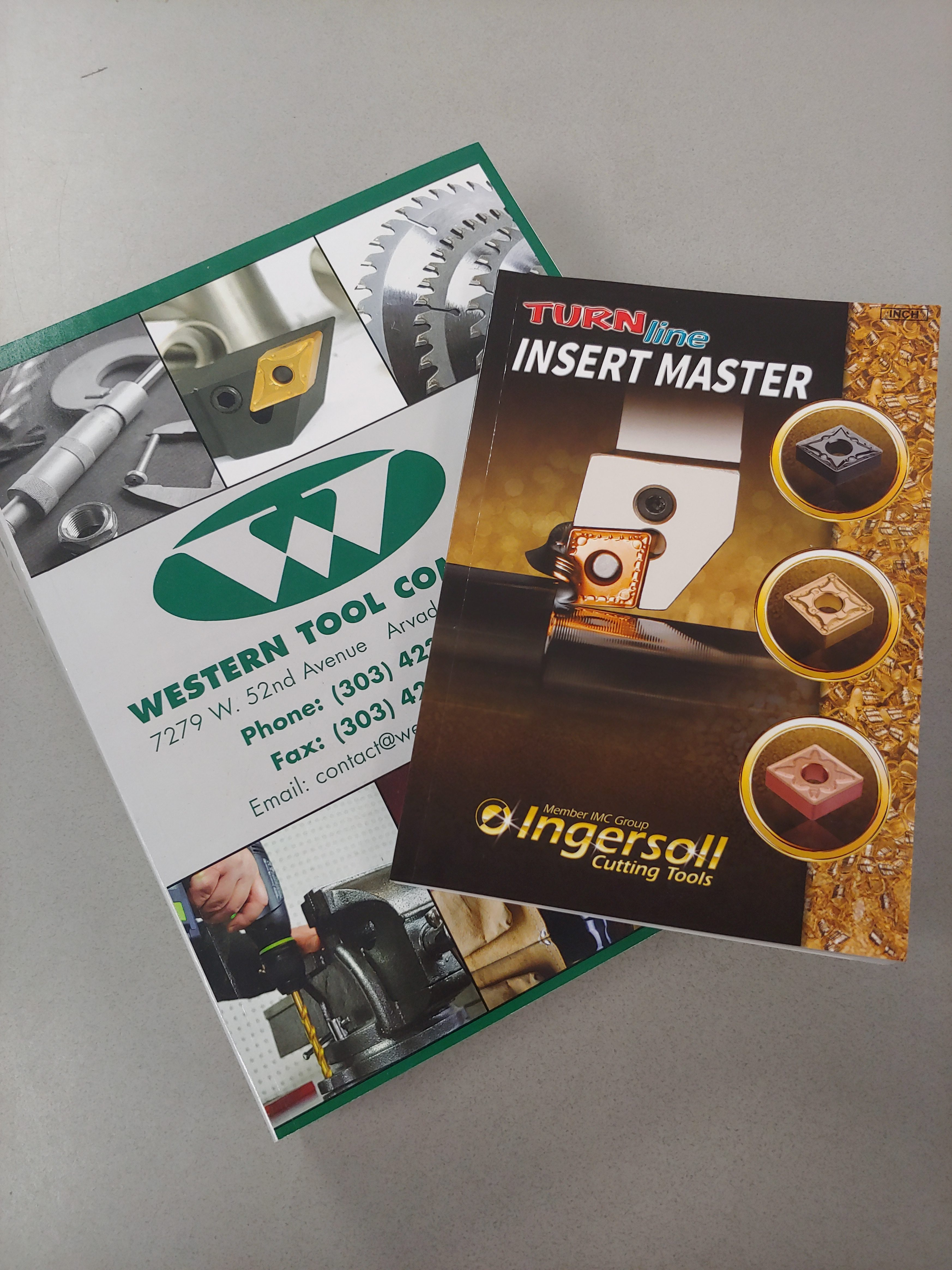 Ingersoll Cutting Tools : New Line for Western Tool Company