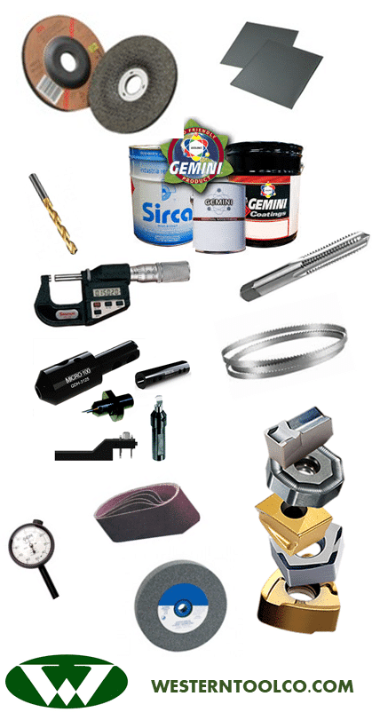 WESTERN TOOL INDUSTRIAL SUPPLY ABRASIVES CUTTING TOOLS